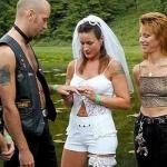 white trash stripper weding meme