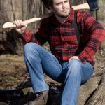 Solemn Lumberjack Meme | WHEN SHE FINDS A NEW MAN AND PROCEEDS TO VIOLATE YOUR NAME AND YOU'RE CONTEMPLATING WHETHER THAT LIFE SENTENCE IS REALLY WORTH IT | image tagged in memes,solemn lumberjack | made w/ Imgflip meme maker