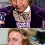 Worried Wonka meme