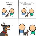 does your dog bite meme