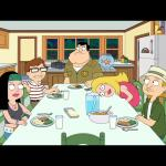 American Dad; Smith Family Dinner meme