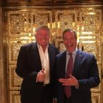 Trump and Farage meme