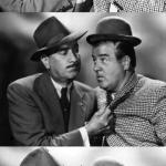 Abbott and costello crackin' wize meme
