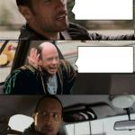 The Rock Driving Inconceivable  meme