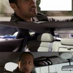 The Rock Driving Blank meme