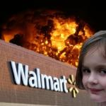 Walmart fire girl meme