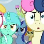 angry group of ponies meme