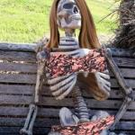 Waiting Skelton girl meme