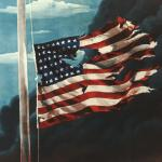 Flag at Pearl Harbor meme