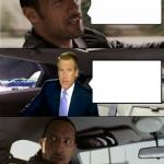 Rock Driving Brian Williams meme