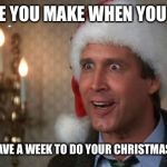 Christmas Vacation Meme.Christmas Vacation Meme Generator Imgflip