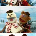 Christmas Puns With Fozzie Bear  meme