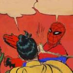 Spiderman Slapping Robin meme