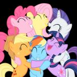 MLP group hug meme