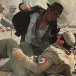 Indiana Jones Punching Nazis meme