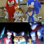 sonic y dragon ball super meme