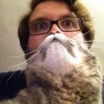 Surprised CatMan Meme | CRAZY CAT LADY'S FUTURE HUSBAND | image tagged in memes,surprised catman | made w/ Imgflip meme maker