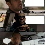Morpheus and the Rock meme