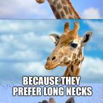 1jx5vp bad pun giraffe meme generator imgflip,Giraffe Meme