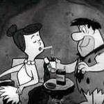 flintstones smoking meme