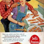 Old Ad Swift Bacon meme