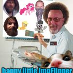 Another quality ImgFlip painting by Reallyitsjohn Ross!  | Let's put another happy little ImgFlipper right there! | image tagged in bob ross blank canvas,memes,evilmandoevil,dashhopes,octavia_melody,reallyitsjohn | made w/ Imgflip meme maker