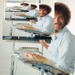 Bob Ross Blank Canvas | BOB ROSS WEEK INFINITE PAINTING | image tagged in bob ross blank canvas | made w/ Imgflip meme maker