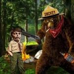 Smokey The Bear Drunk meme