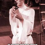 princess leia | DON'T TEST THE GRAPHICS PRINCESS! | image tagged in princess leia | made w/ Imgflip meme maker
