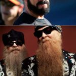 Brian Wilson Vs ZZ Top Meme | I HAVE A BEARD WE WOULD NORMALLY SAY PEACH FUZZ, BUT THAT LOOKS LIKE STRAIGHT PUBES | image tagged in memes,brian wilson vs zz top | made w/ Imgflip meme maker