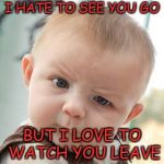 Skeptical Baby Meme Generator - Imgflip