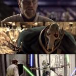 Hello There. Obi-wan vs Grievous