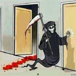 Grim Reaper Knocking Door meme