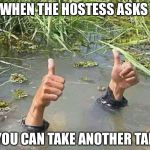 "When ""in the weeds"" just doesn't really explain the situation 