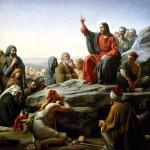 Jesus sermon on the mount meme