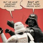 Darth Vader Slapping Storm Trooper meme
