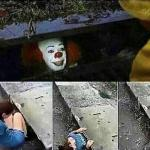 IT Clown Sewers meme