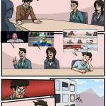 Memeception | K EVERYBODY. WHAT'S YOUR MEME IDEAS? MEANWHILE AT MEME HQ... | image tagged in memes,boardroom meeting suggestion,inception | made w/ Imgflip meme maker