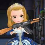 Princess Amber use AK-47 meme