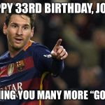 Soccer Birthday Meme Generator