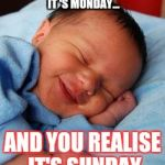 1wu8pu sleeping baby laughing meme generator imgflip