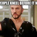 """Kneel before Zod!"" 