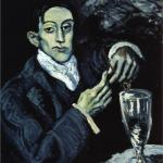 picasso drinking meme