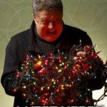 Christmas Lights | HAVE YOUR SELF A VERT MERRY CHRISTMAS | image tagged in christmas lights | made w/ Imgflip meme maker