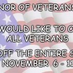 Faded American Flag | IN HONOR OF VETERANS DAY WE WOULD LIKE TO OFFER 10% OFF THE ENTIRE STORE NOVEMBER  6 - 11 ALL VETERANS | image tagged in faded american flag | made w/ Imgflip meme maker