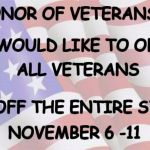Faded American Flag | IN HONOR OF VETERANS DAY WE WOULD LIKE TO OFFER ALL VETERANS 10% OFF THE ENTIRE STORE NOVEMBER 6 -11 | image tagged in faded american flag | made w/ Imgflip meme maker