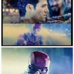 Flash/Superman Justice League meme