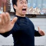 Angry Asian Meme | WHEN SOMEONE DISSES POKEMON | image tagged in memes,angry asian | made w/ Imgflip meme maker