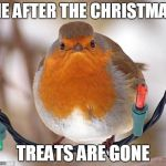Bah Humbug Meme | ME AFTER THE CHRISTMAS TREATS ARE GONE | image tagged in memes,bah humbug | made w/ Imgflip meme maker