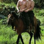 Trump Putin | LOVELY DAY FOR A RIDE, EH COMRADE? TREMENDOUS! TREMENDOUS DAY! | image tagged in trump putin | made w/ Imgflip meme maker